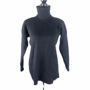 Linda Allard Ellen Tracy Wool Turtleneck Sweater
